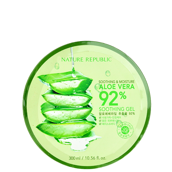 NATURE REPUBLIC Soothing & Moisture Aloe Vera 92% Soothing Gel | Shop Nature Republic in Canada & USA at Chuusi.ca
