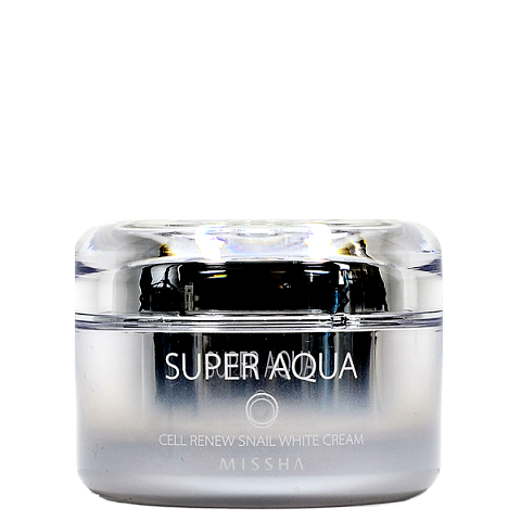 MISSHA Super Aqua Cell Renew Snail White Cream | Canada & USA | Chuusi