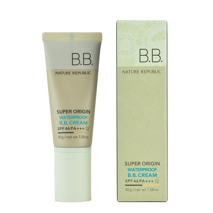 Nature Republic - Super Origin Waterproof BB Cream SPF46 PA+++ | Chuusi | Shop Korean and Taiwanese Cosmetics & Skincare at Chuusi.ca - 2