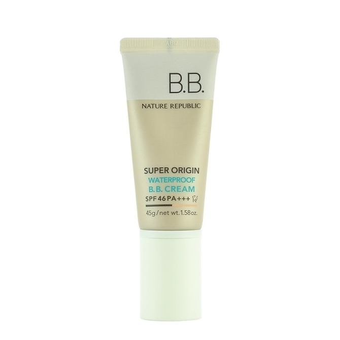 Nature Republic - Super Origin Waterproof BB Cream SPF46 PA+++ | Chuusi | Shop Korean and Taiwanese Cosmetics & Skincare at Chuusi.ca - 1