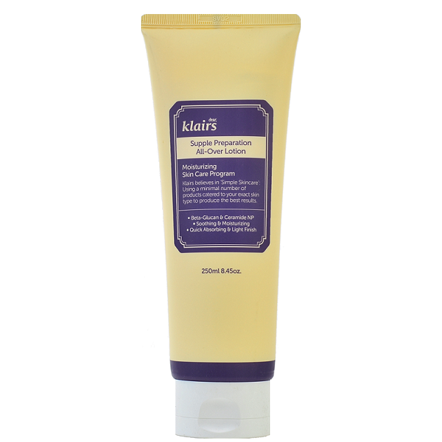 KLAIRS Supple Preparation All-Over Lotion | Canada & USA | Chuusi