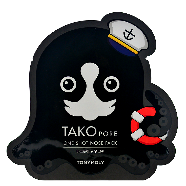 TONY MOLY Tako Pore One Shot Nose Pack -- Shop Korean Japanese Taiwanese Skincare in Canada & USA at Chuusi.ca