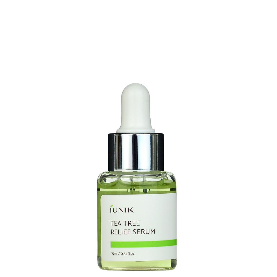 Iunik Tea Tree Relief Serum Mini -- Shop KBeauty Canada USA -- Chuusi.ca