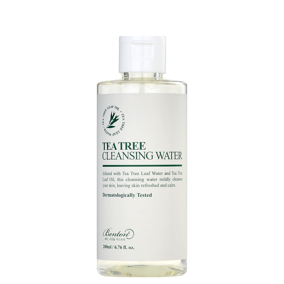 BENTON Tea Tree Cleansing Water | Shop Korean Japanese Taiwanese Skincare in Canada & USA at Chuusi.ca