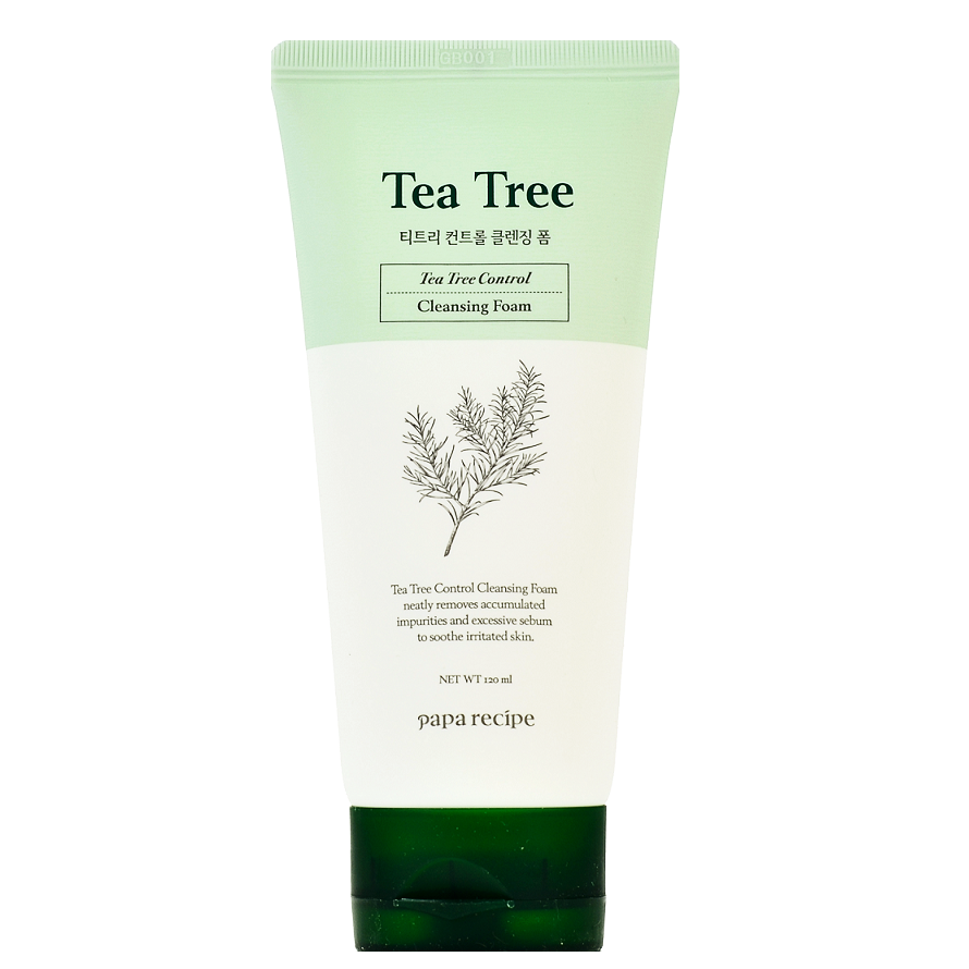 PAPA RECIPE Tea Tree Control Cleansing Foam | Shop Korean skincare in Canada & USA at Chuusi.ca