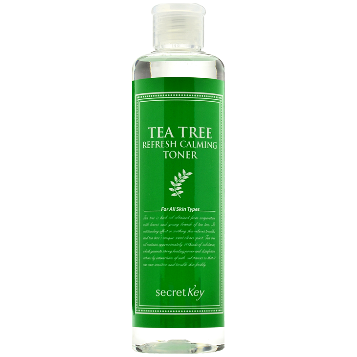 SECRET KEY Tea Tree Refresh Calming Toner | Shop Korean skincare cosmetics in Canada & USA at Chuusi.ca