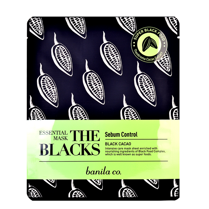 Banila Co. - The Blacks Black Cacao Essential Mask | Chuusi | Shop Korean and Taiwanese Cosmetics & Skincare at Chuusi.ca