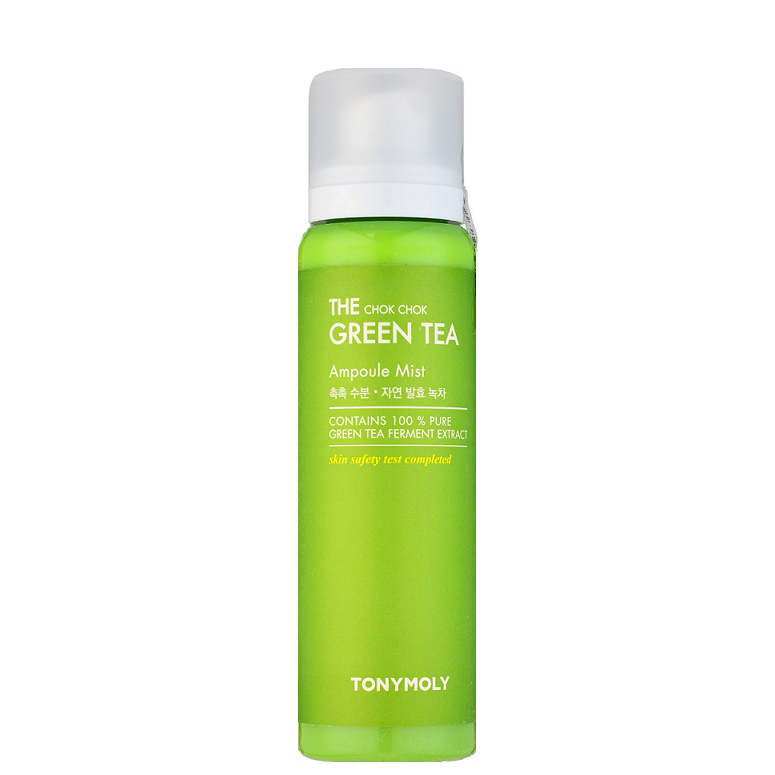 TONY MOLY The Chok Chok Green Tea Ampoule Mist -- Shop Korean Japanese Taiwanese Skincare in Canada & USA at Chuusi.ca