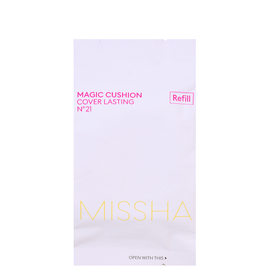 MISSHA Magic Cushion Cover Lasting No. 21 - Refill only -- Shop Korean Japanese Taiwanese Skincare in Canada & USA at Chuusi.ca
