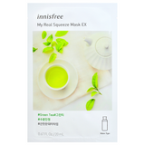 INNISFREE My Real Squeeze Mask EX - Green Tea -- Shop Korean Japanese Taiwanese Skincare in Canada & USA at Chuusi.ca