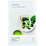 INNISFREE My Real Squeeze Mask - Broccoli | Shop Innisfree Korean skincare cosmetics in Canada & USA at Chuusi.ca