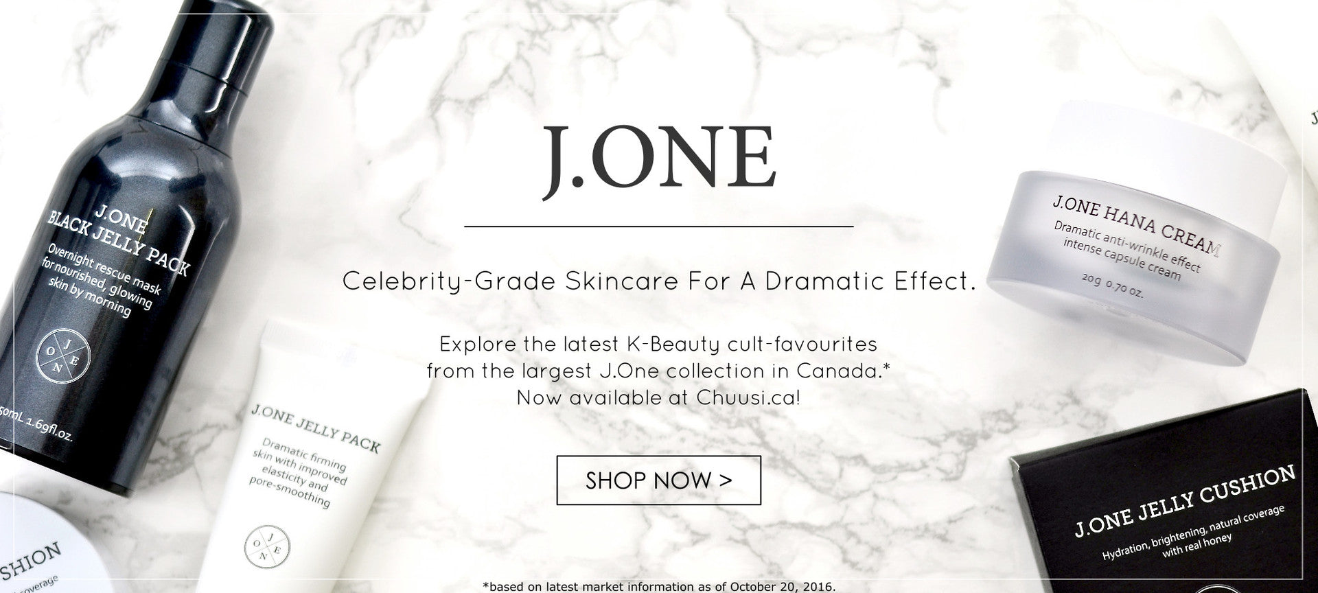 J.ONE Canada & USA Korean Skincare Cosmetics Chuusi.ca