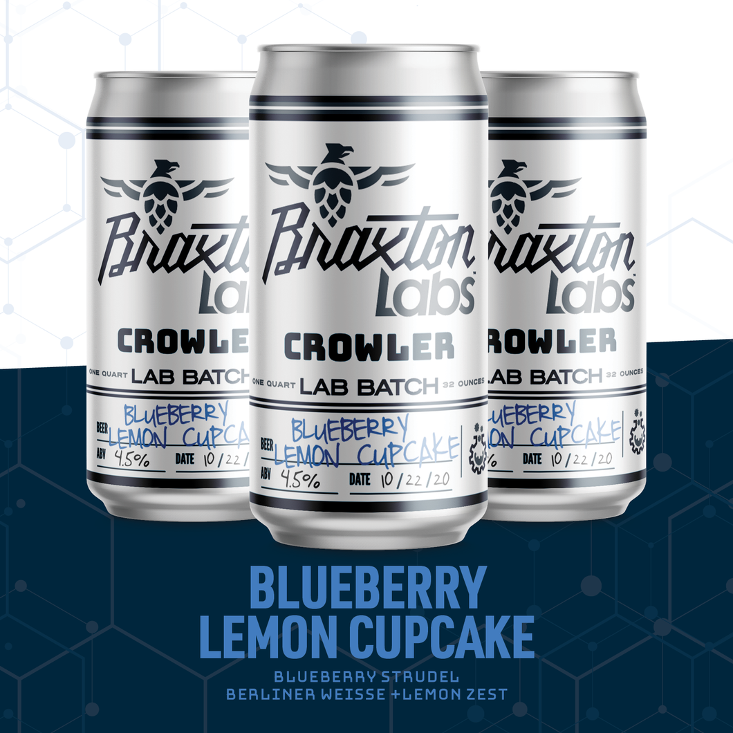Braxton Labs Infusion: Blueberry Lemon Cupcake
