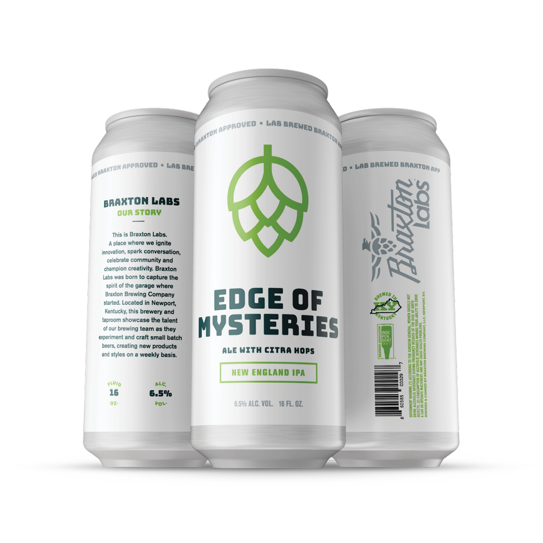 Labs Edge of Mysteries New England IPA 4-pack