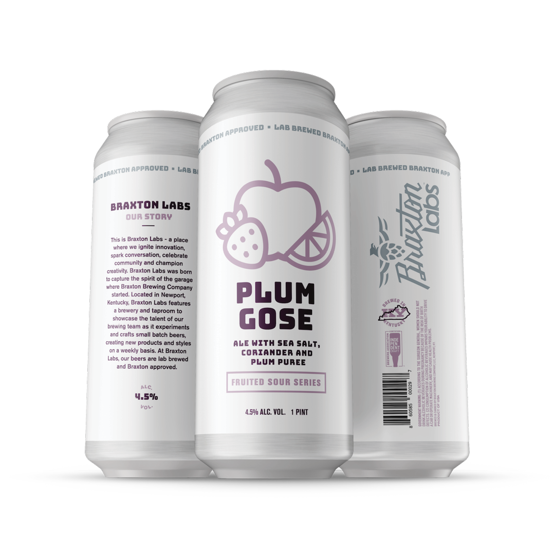 Labs Plum Gose 4-pack