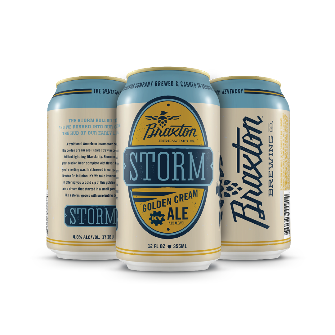 Storm Golden Cream Ale 6-pack