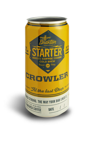 Cold Brew Crowler