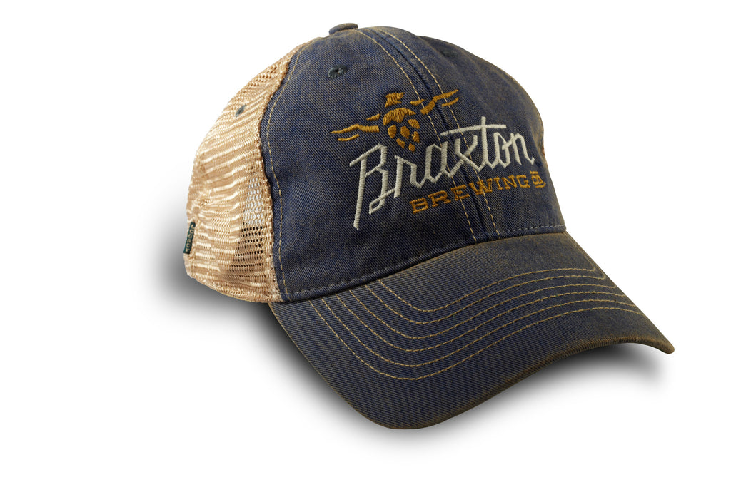 1a971e20 Old Favorite Trucker Hat – Braxton Brewing Company