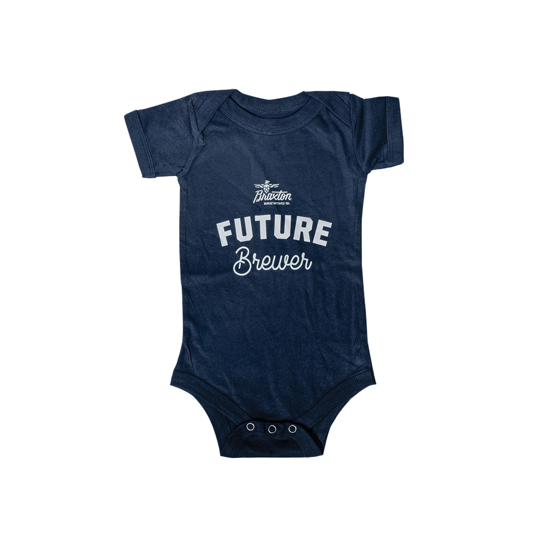 Baby Onesie: Future Brewer