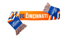 Load image into Gallery viewer, Braxton FC Cincinnati Scarf