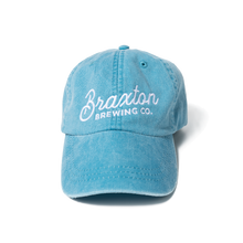 Load image into Gallery viewer, Ladies Blue Denim Embroidered Hat