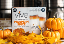 Load image into Gallery viewer, VIVE Hard Seltzer Pumpkin Spice 6-Pack
