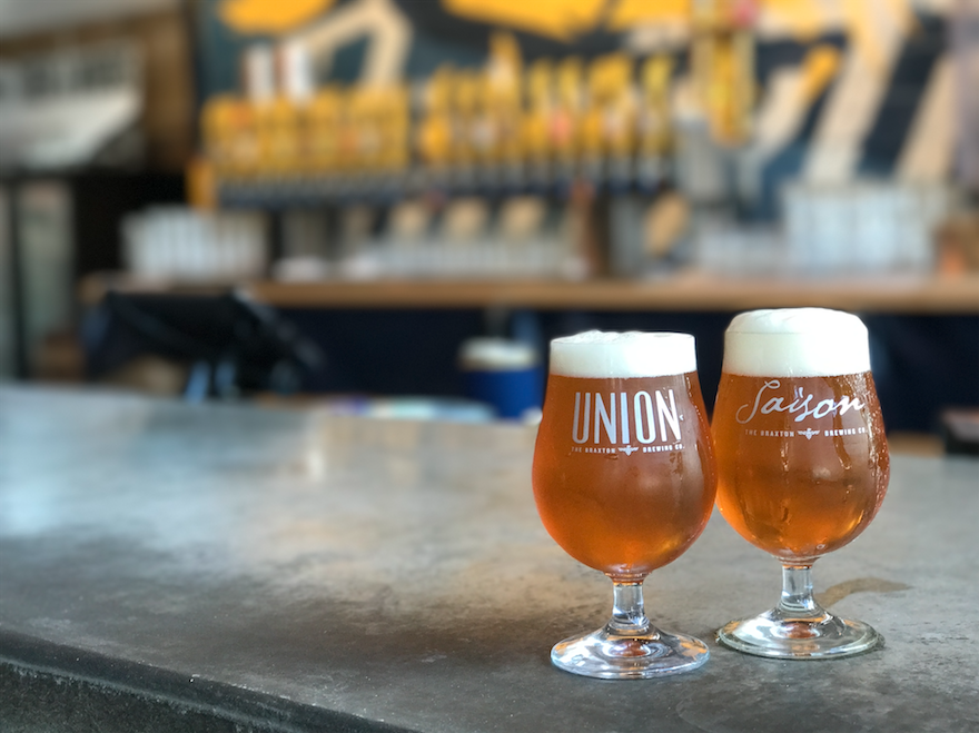 2017 Union Saison Glass