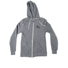 Load image into Gallery viewer, Grey Zip Up Hoodie