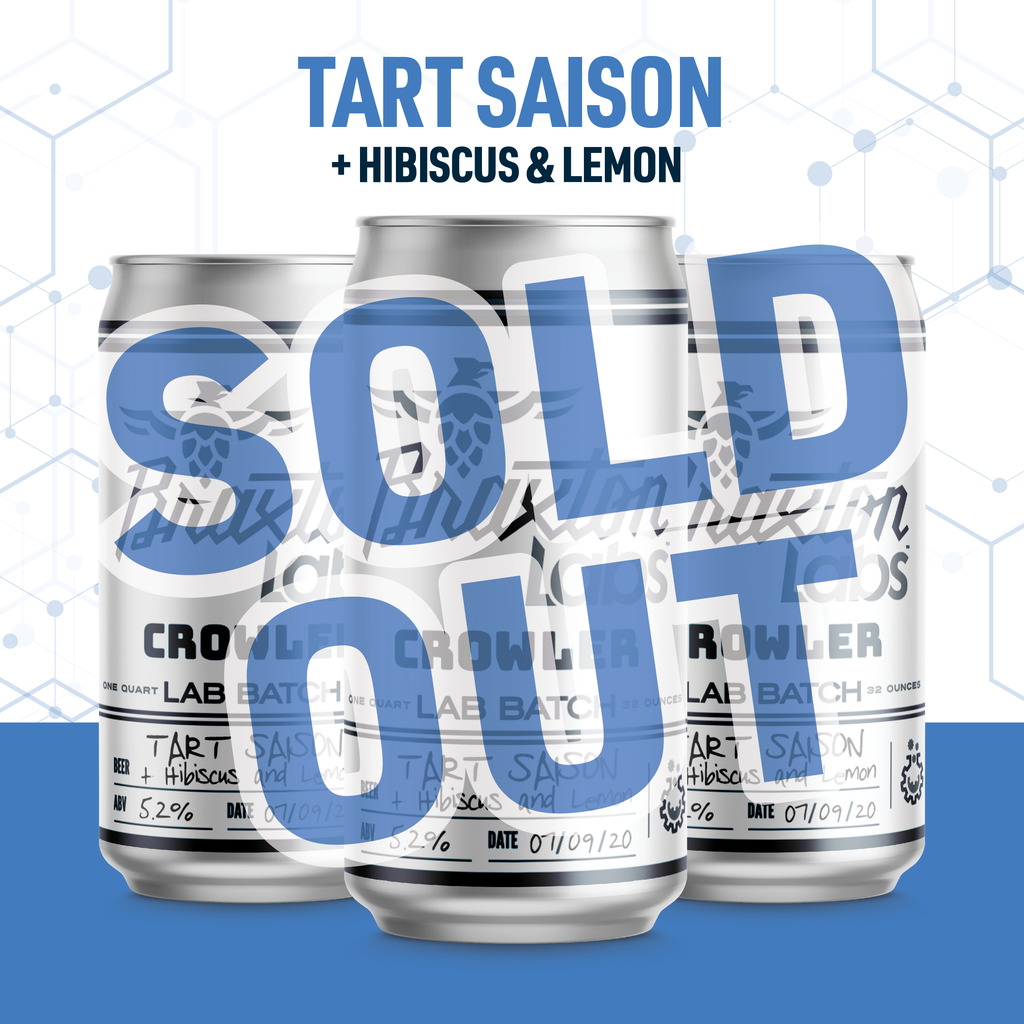 Tart Saison with Hibiscus & Lemon