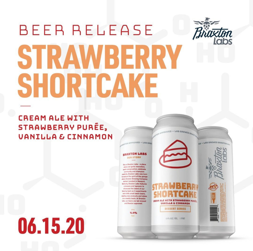 Strawberry Shortcake Cream Ale