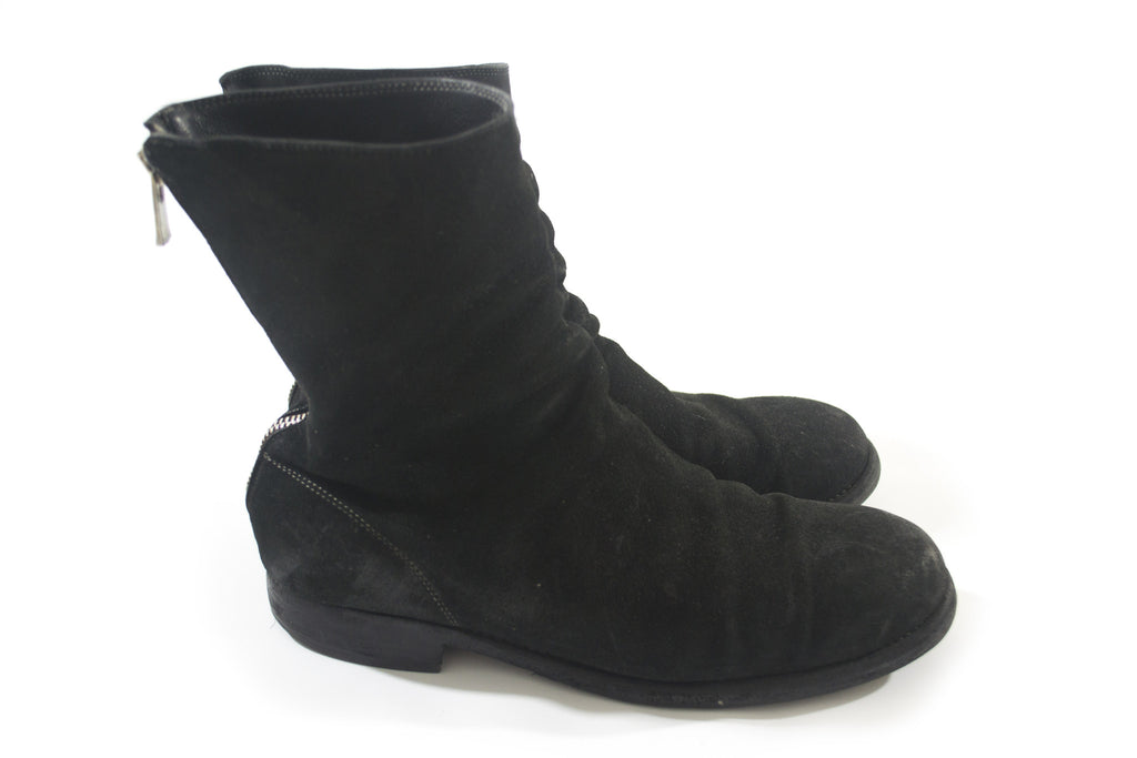 Guidi Reversible Horse Leather Stack Boots