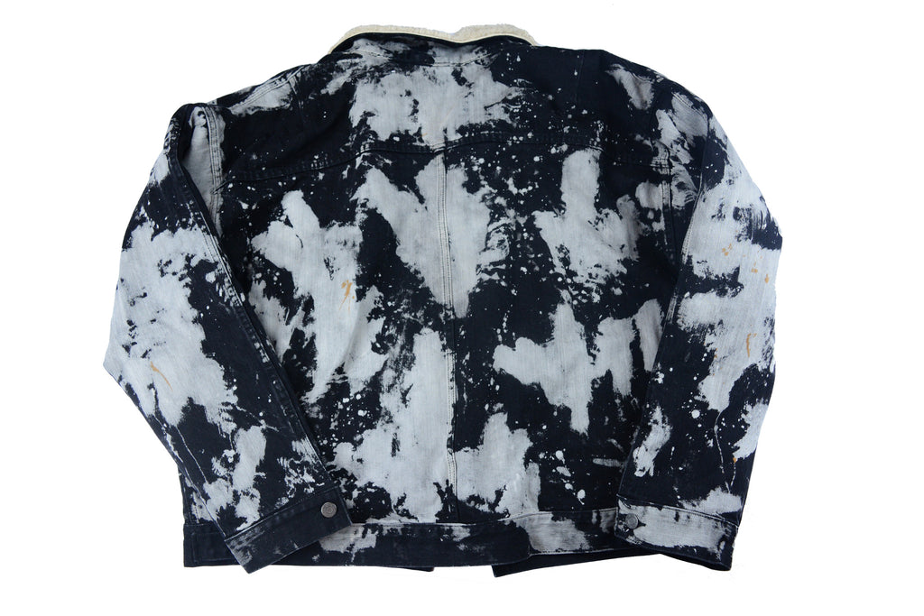 Fear of God Tie Dye Denim Jacket