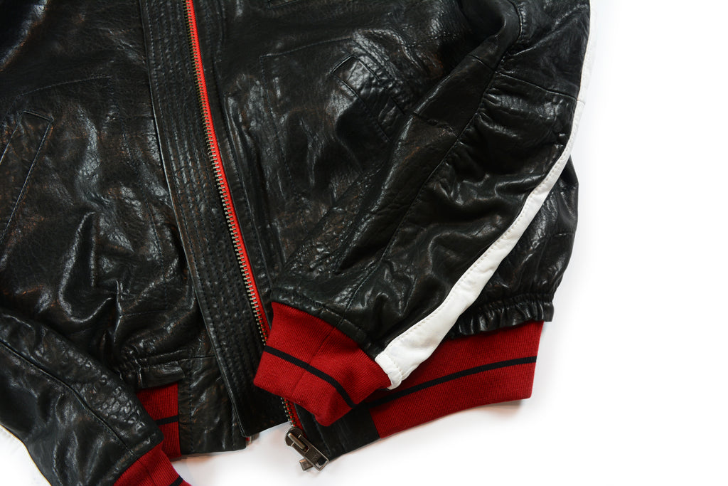 Haider Ackermann Leather Bomber Jacket