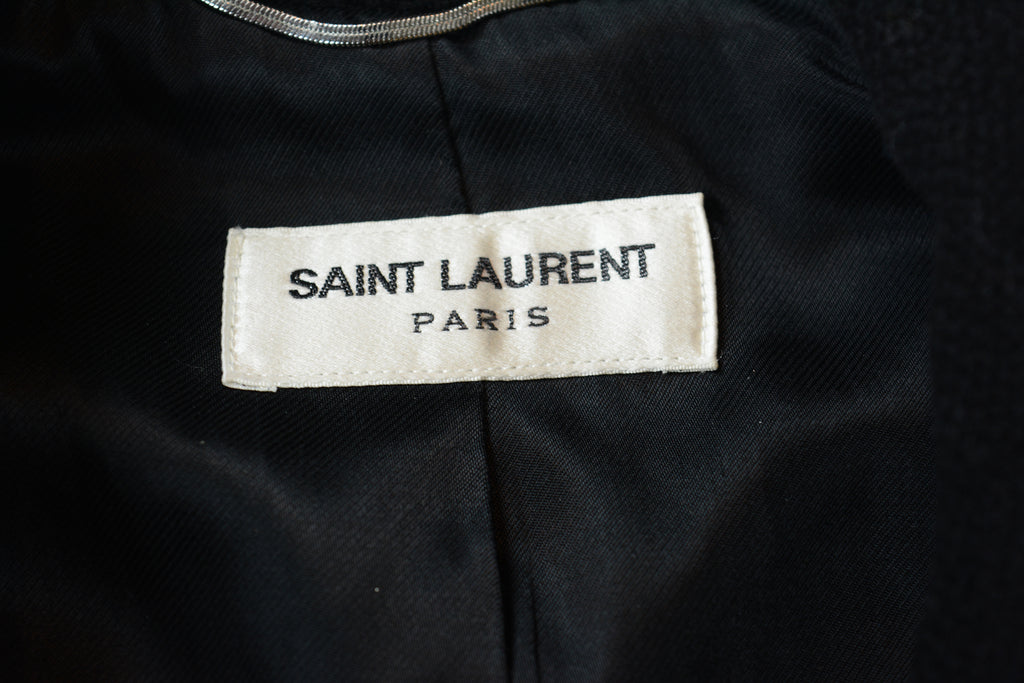 Saint Laurent Paris Teddy Jacket