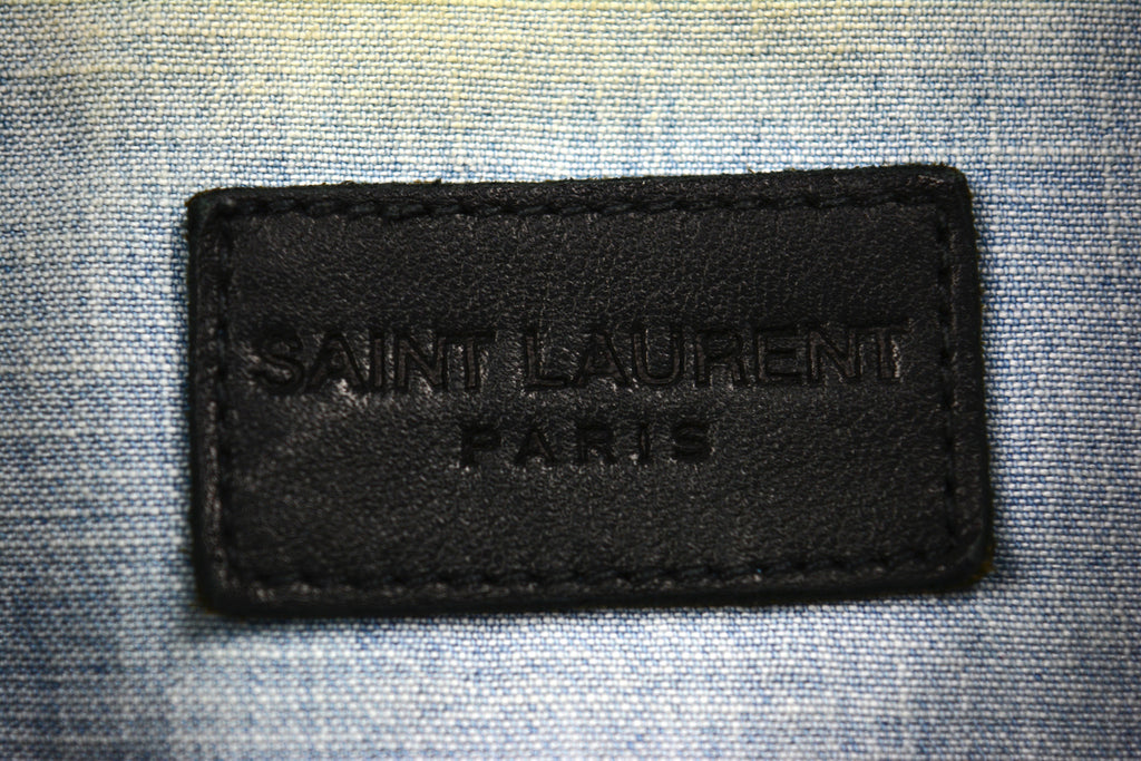 Saint Laurent Paris Denim Shirt