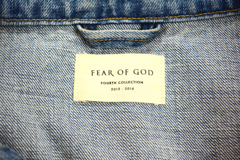 Fear of God Raglan Denim Jacket