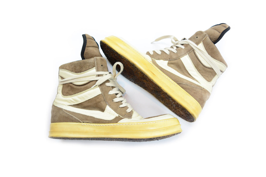 Rick Owens Suede Dunks