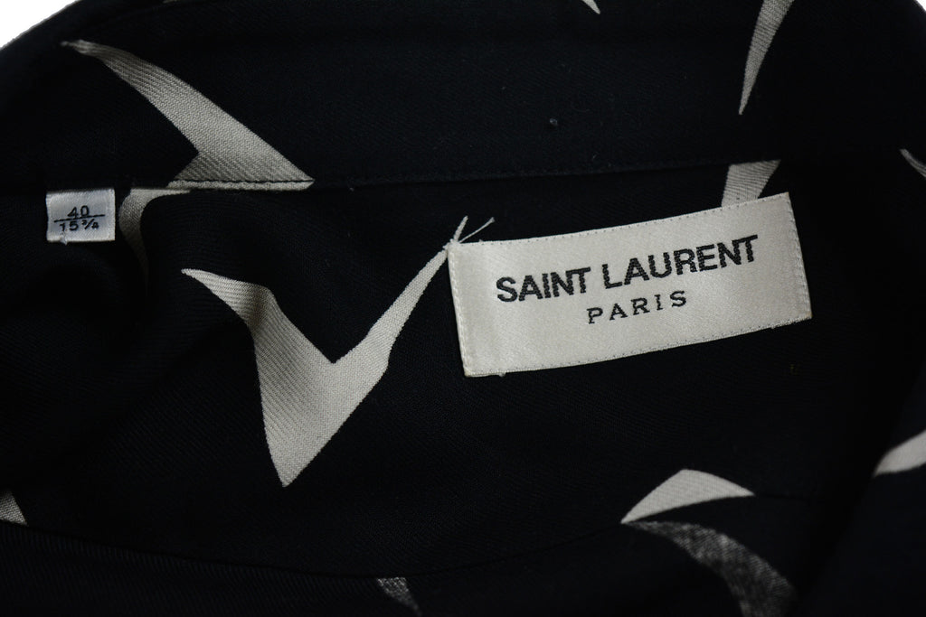 Saint Laurent Paris Button Shirt