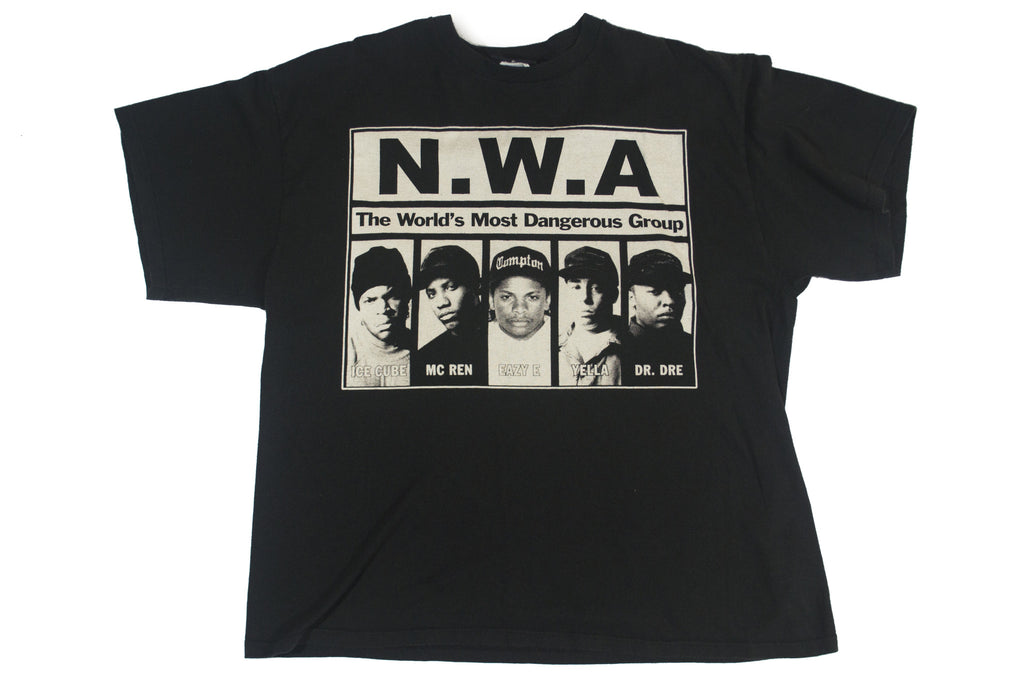 "N.W.A. ""World's Most Dangerous Group"" Vintage Tee"