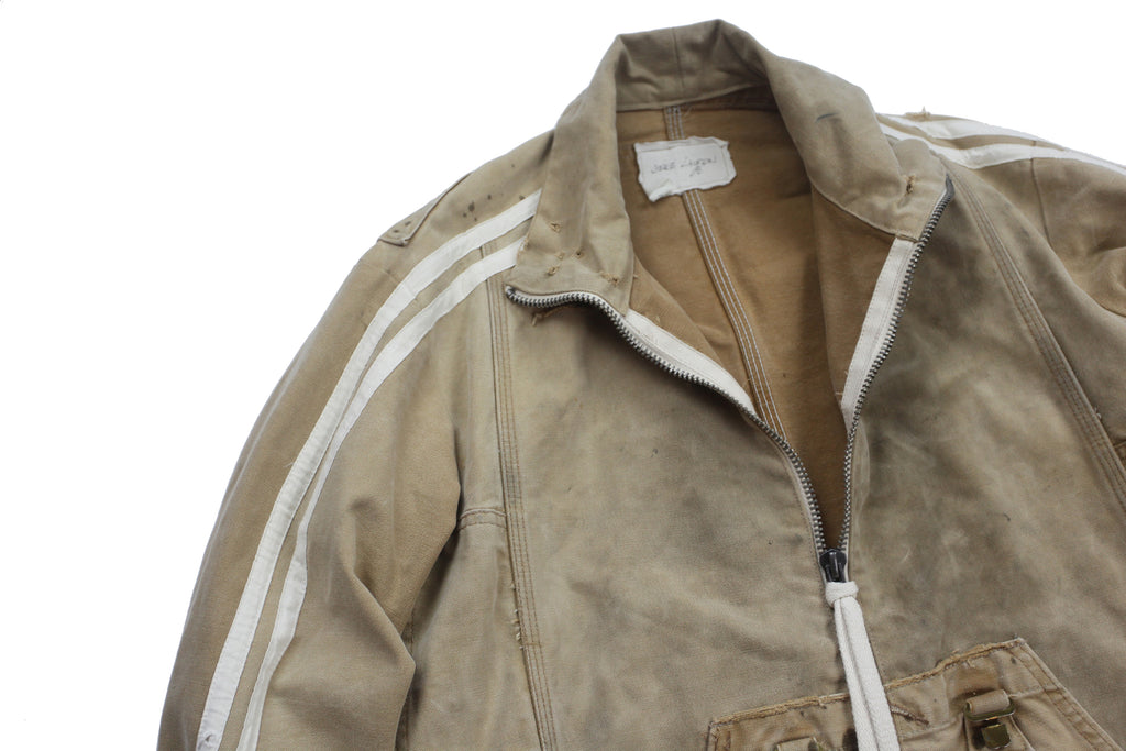 Greg Lauren Canvas Track Jacket