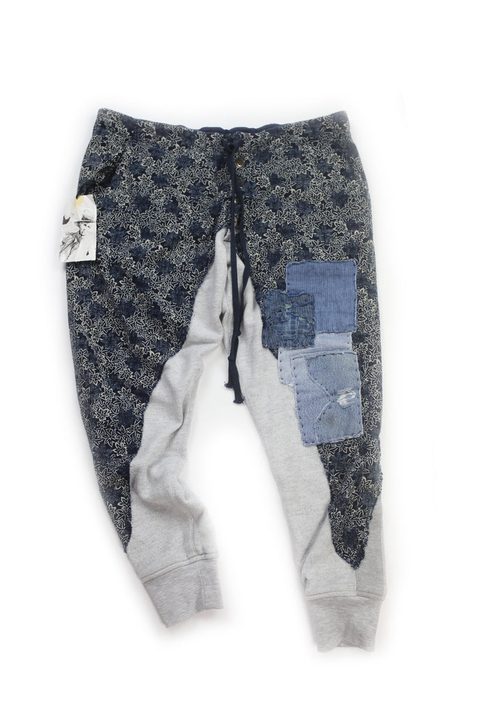 Greg Lauren Starfish Lounge Pants