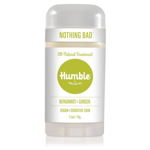 HUMBLE DEODORANT - Sensitive Bergamot & Ginger Deodorant Vegan