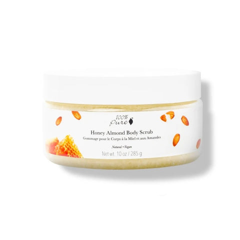 100% PURE - Honey Almond Body Scrub