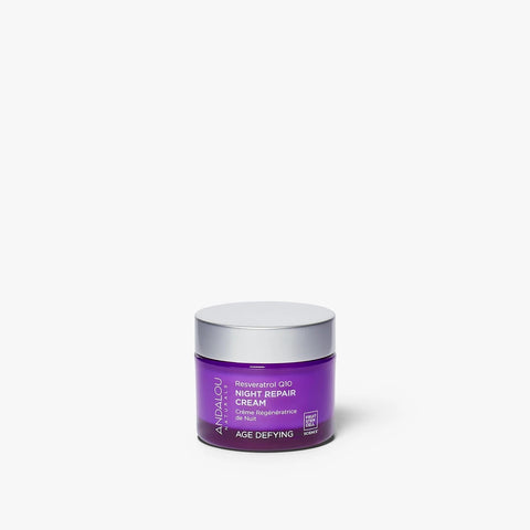 ANDALOU NATURALS - Age Defying Resveratrol Q10 Night Cream