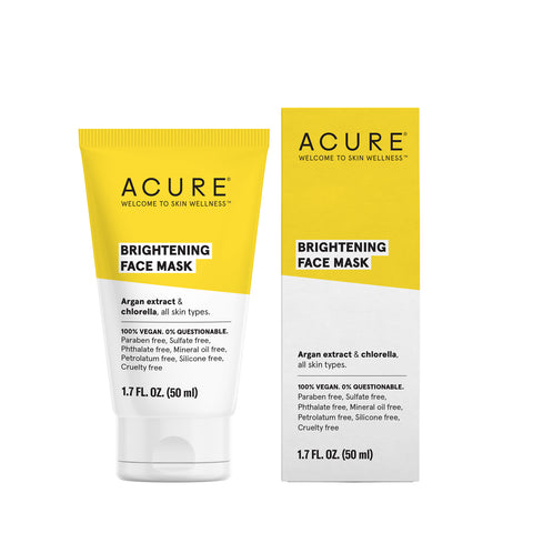 ACURE - Brightening Face Mask