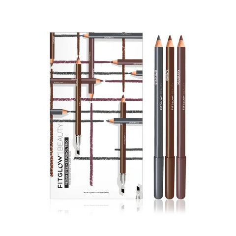 FITGLOW BEAUTY - Vegan Eyeliner Pencil Trio