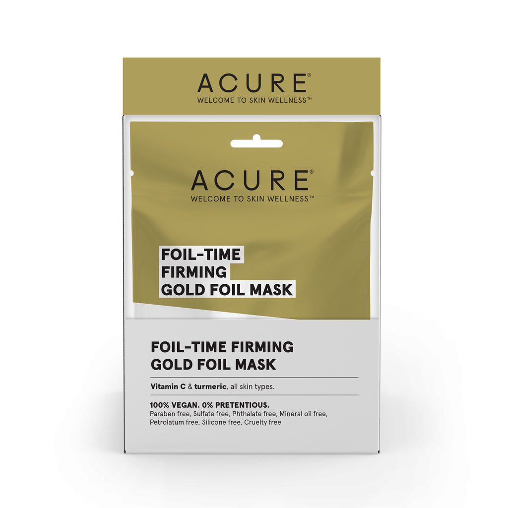 ACURE - Foil-Time Firming Gold Foil Mask
