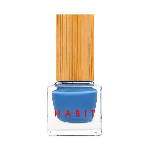 HABIT COSMETICS - Non-Toxic + Vegan Nail Polish in 57 Blue Jean Baby *NEW*