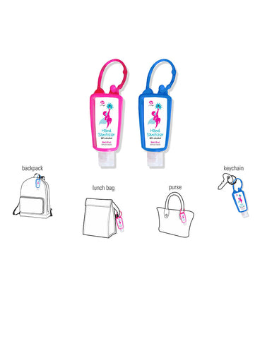 SUNCOAT - Gel Wrap Hand Sanitizer 30ml ea 2 pack – Travel Fastener