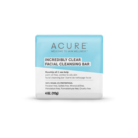 ACURE - Incredibly Clear Facial Cleansing Bar